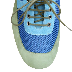 Green casual shoes for women
