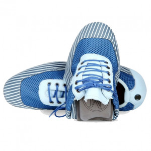 Men blue soft casual sports