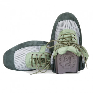 Green romeo sports shoes for men