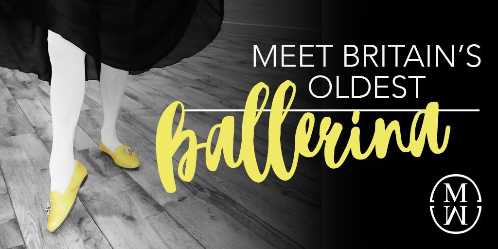 Meet Britains oldest Ballerina