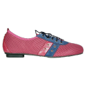 Red mara sports shoes for men